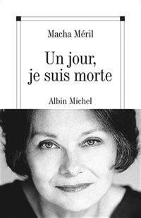 Macha Méril, actrice et romancière française   Журнал