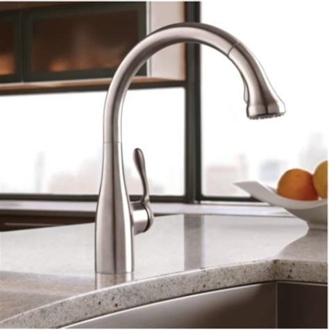 Costco Kitchen Faucets | hansgrohe allegro e gourmet high arc kitchen faucet