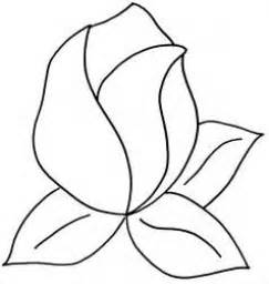 Rose Templates Free Gallery For Gt Rose Template Stencil