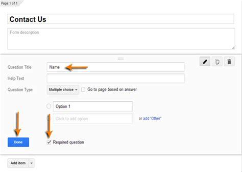 cara membuat form contact us html cara membuat contact us form menggunakan google drive