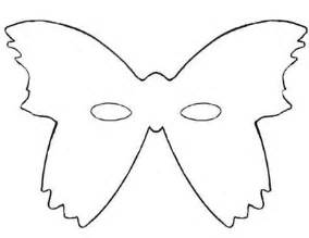 Butterfly Mask Template by Printable Butterfly Masks