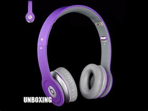 beats by dr dre hd blue unboxing powerbeats beats by dre headphone review doovi