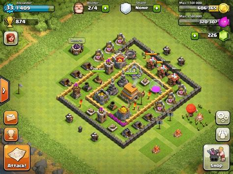 editing layout in clash of clans clash of clans level 6 town hall defense thread town