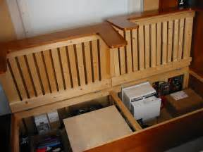 a self build motorhome beds seats