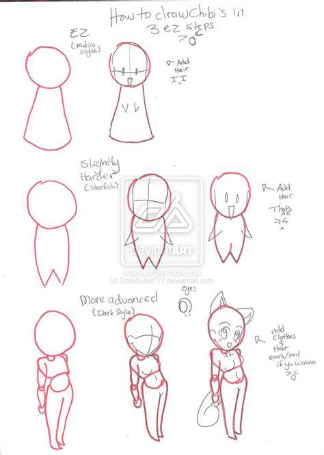 tutorial menggambar chibi anime 1000 images about chibi tutorials on pinterest mlp