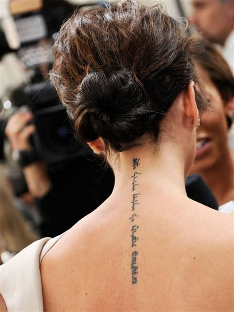 victoria beckham tattoo removal idea tattoos for inspirations