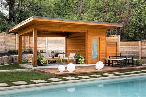 custom    malibu pool cabana  overhang