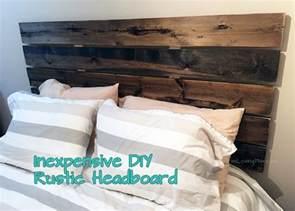 diy rustic headboard diy headboard for 50