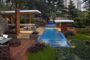 outdoor pool lighting modern landscape design ideas from rollingstone landscapes