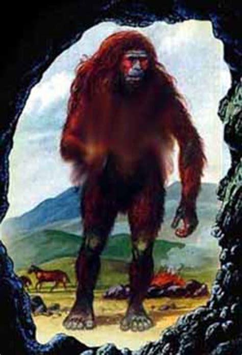 ape creatures bigfoot sasquatch yeti yowie  crystalinks