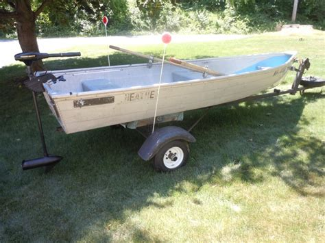 aluminum boat anchor 12 aluminum boat motor and trailer new hshire derry