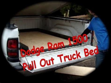 dodge ram  pull  truck bed diy youtube