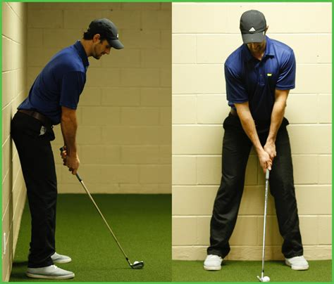 how to set up golf swing swing test