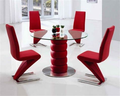 Red Dining Room Table inspirations d 233 co 10 tables 224 manger chics et modernes