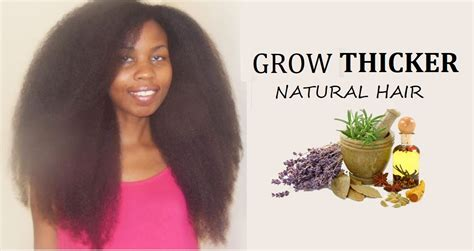 how to grow african hair grow natural hair faster thicker 4c african black hair