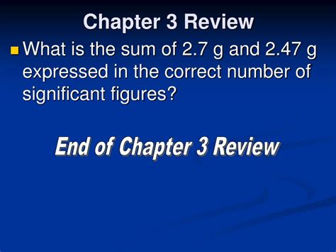 section 3 1 measurements and their uncertainty ppt chapter 3 review scientific measurement powerpoint
