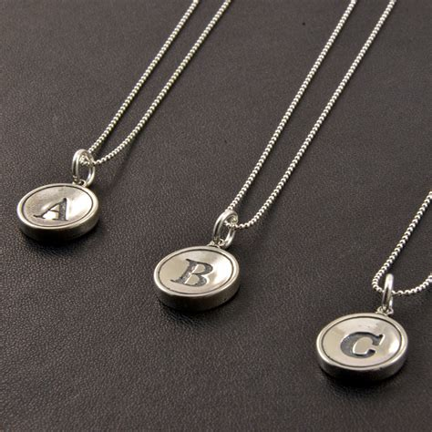 sterling silver for jewelry sterling silver initial jewelry