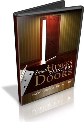 small hinges swing big doors small hinges swing big doors mp3