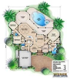 Mediterranean Style Floor Plans by Mediterranean House Plan Dalt Vila House Plan Weber Design