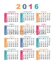 Calendario Semana Calendario 2016 Semana