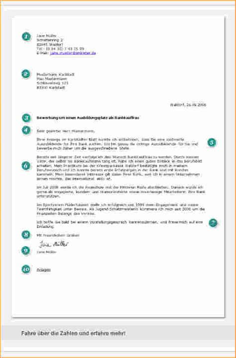 Bewerbungsschreiben Ausbildung Was Muss Rein 6 bewerbung anlagen bewerbungsschreiben