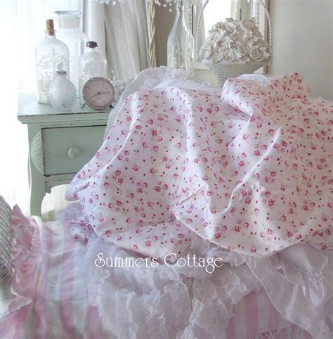 shabby chic sheets king sheet set shabby pink wine roses chic cotton homes