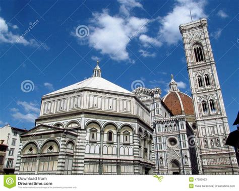 duomo di santa fiore florence cathedral royalty free stock photography