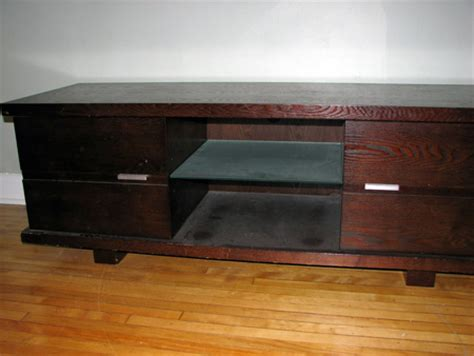 tv bench with storage modern tv bench with dvd storage 250 obo