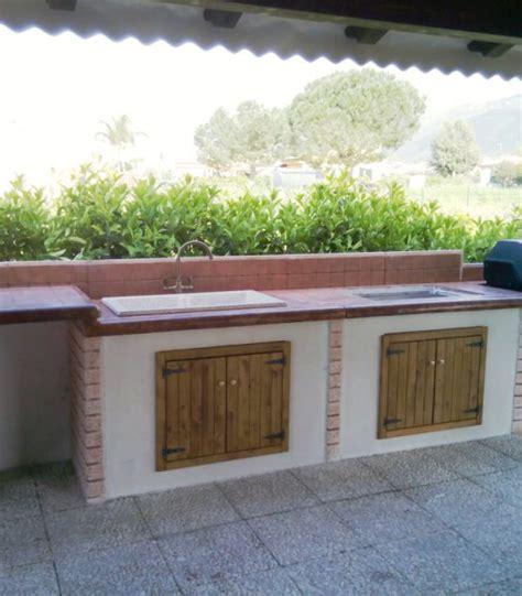 cucina esterna in muratura beautiful cucina in muratura per esterno gallery ideas