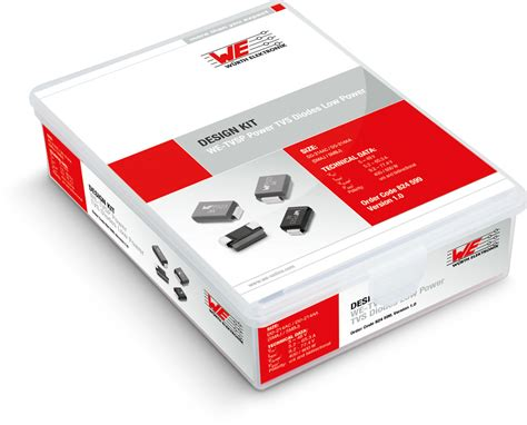 power tvs diode we tvsp power tvs diode low power design kits emc components wurth electronics standard parts