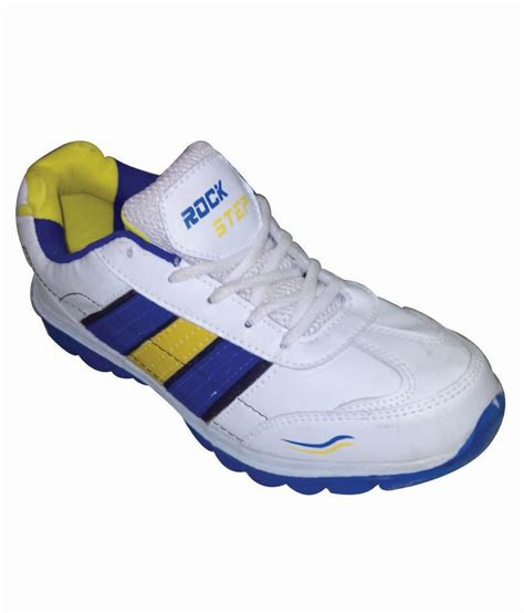rock sport shoes rock step sports shoes 800 white price in india buy rock
