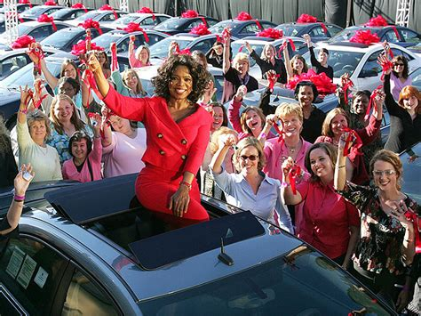 The Talk Audience Giveaways - oprah s biggest giveaways cars trips cruises and more people com