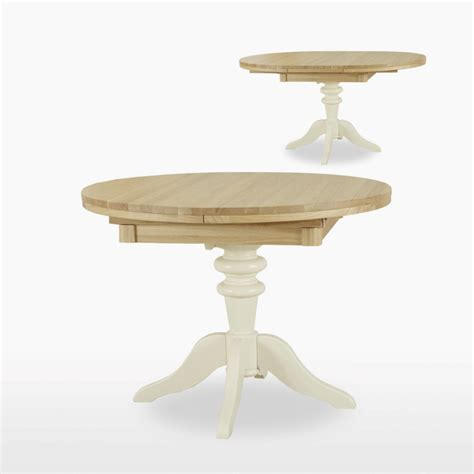 TCH Coelo Round Extending single pedestal Dining Table