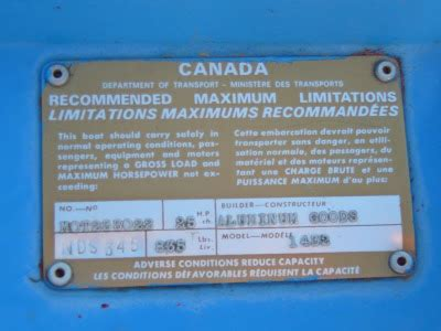 boat manufacturer identification code new member looking for info aluminum goods tinboats net