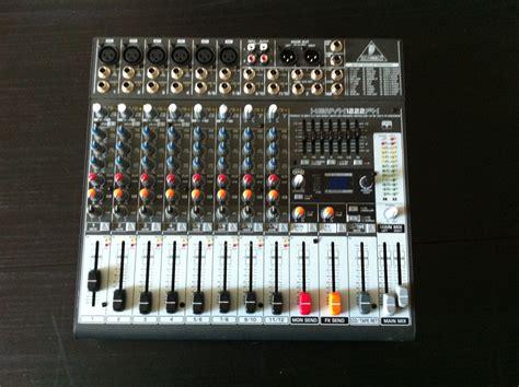 Mixer Behringer Xenyx 1222fx behringer xenyx 1222fx image 847710 audiofanzine
