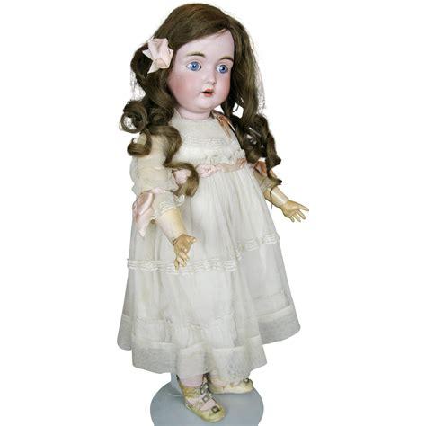 bisque kestner doll a o exquisite antique kestner german bisque doll from