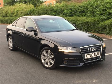 Audi A4 1 8 Tfsi 2008 audi a4 1 8 tfsi sport new shape in digbeth west