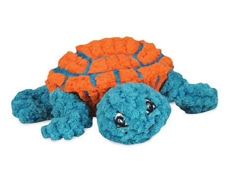 hugglehounds ruff tex dude the turtle orange blau