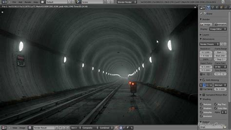blender tutorial scene create an underground subway scene in blender part 1 of