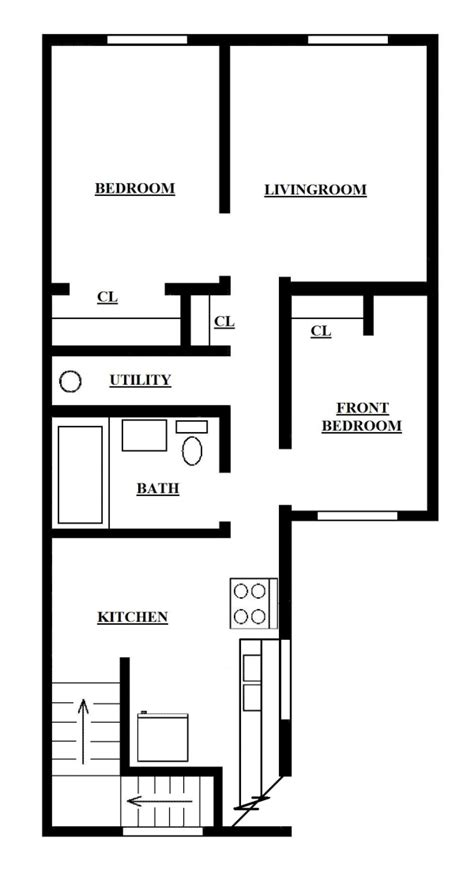 650 sq ft apartment floor plan two bedroom apartment upper