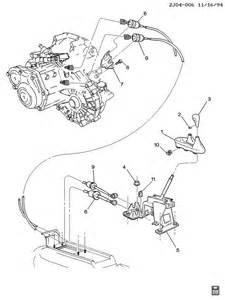 Pontiac Sunfire Transmission 1996 Pontiac Sunfire Shift Controls Manual Transmission 5
