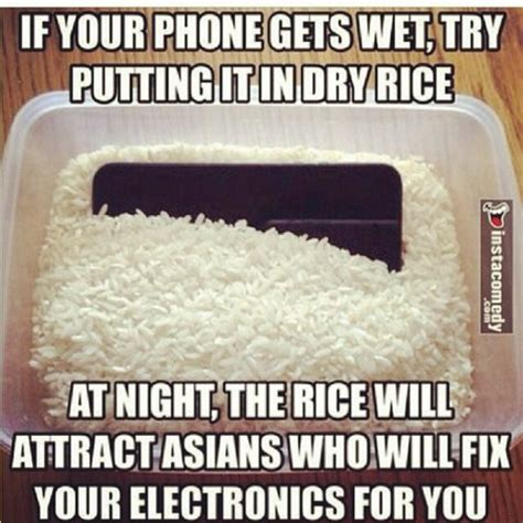 Phone In Rice Meme - offensive memes page 7 babycenter