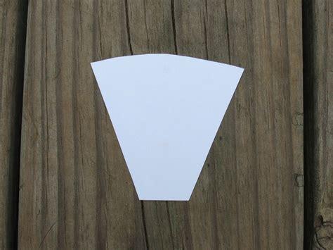 Papier Lenschirm Selber Machen 1670 by Make Paper Cone Darts Sensible Survival