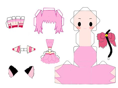 Mew Papercraft - mew mew power ichigo by matryoshka12 on deviantart anime