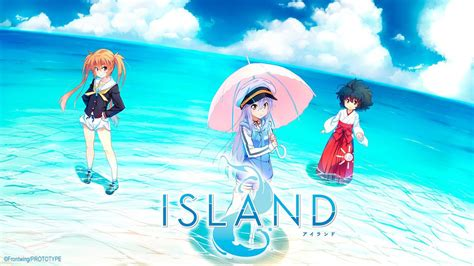 island visual novels tv anime english release revealed