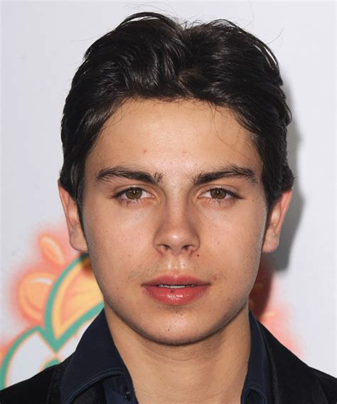 good haircuts austin jake t austin short straight casual hairstyle black hair