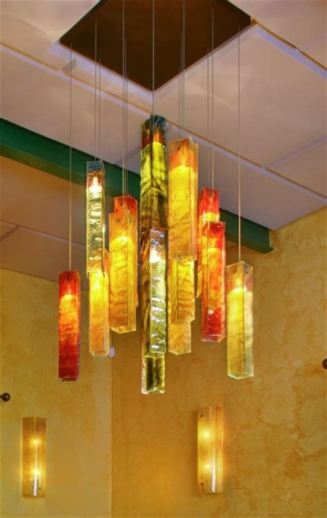 exotic candles custom chandelier tropical dining