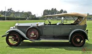 Rolls Royce 1920 Price 1920 Rolls Royce Silver Ghost Pall Mall Dual Windscreen Tourer