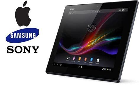 Tablet Sony Dan Samsung sony tung tablet cỡ lớn quot hạ gục apple samsung thời trang hi tech