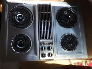 Electric Cooktop With Downdraft Jenn Air Electric Cooktop With Center Downdraft Model